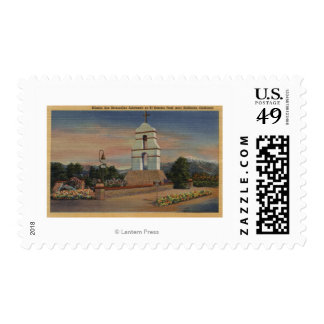 Mission San Bernardino Asistencia Postage Stamps