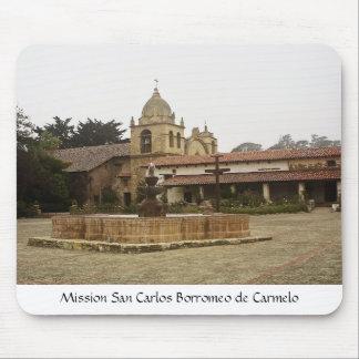 Mission San Carlos Borromeo de Carmelo Mouse Pad