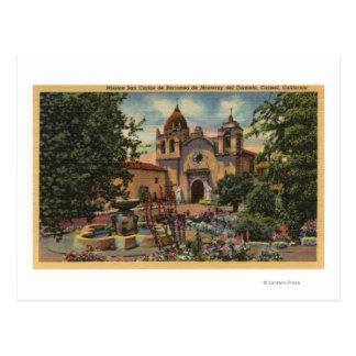 Mission San Carlos de Borromeo de Monterey Postcard