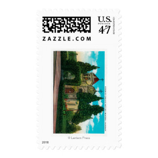 Mission San Carlos De MontereyMonterey, CA Postage Stamp