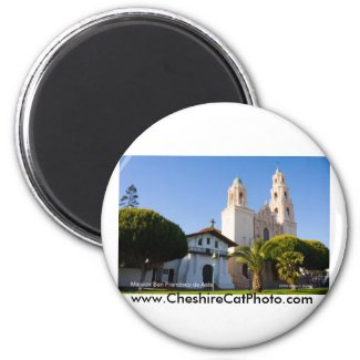 Mission San Francisco de Asís California Products Magnet