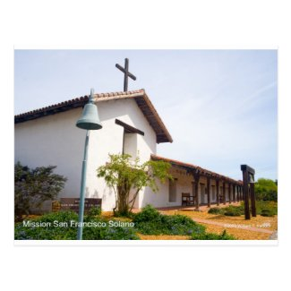 Mission San Francisco de Solano CA Products Postcard