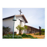 Mission San Francisco de Solano CA Products Postcard