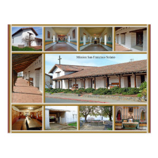 Mission San Francisco Solano Postcard