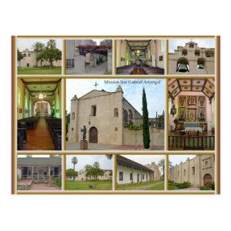 Mission San Gabriel Postcard