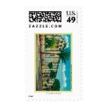 Mission San GabrielSan Garbriel, CA Postage Stamps
