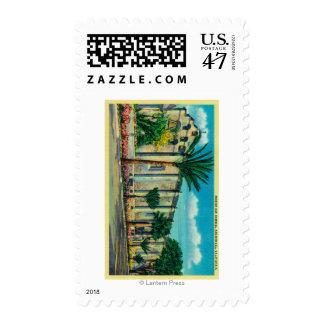 Mission San GabrielSan Garbriel, CA Stamp