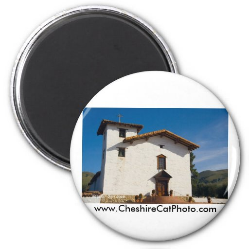 Mission San José California Products 2 Inch Round Magnet