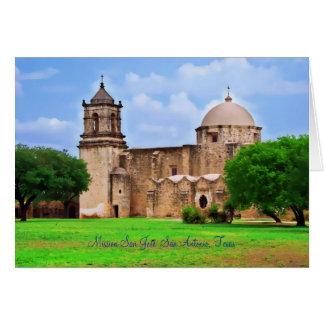 Mission San José Church Card