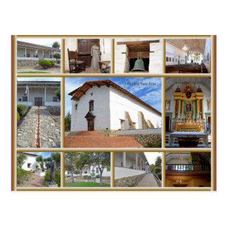 Mission San Jose Postcard