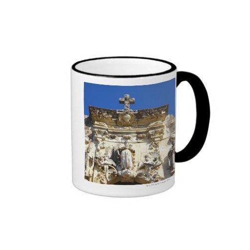 Mission San Jose Ringer Coffee Mug