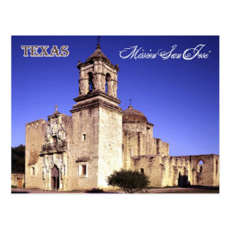Mission San José, San Antonio, Texas Post Card