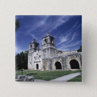 Mission San Jose, San Antonio, Texas, USA Button