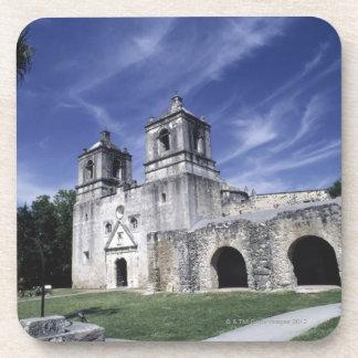 Mission San Jose, San Antonio, Texas, USA Drink Coaster