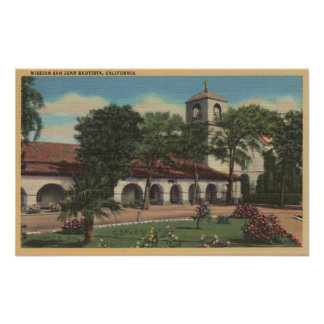 Mission San Juan Bautista, California Print