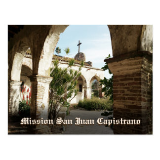 Mission San Juan Capistrano Postcard