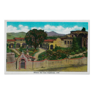 Mission San Juan Capistrano Poster