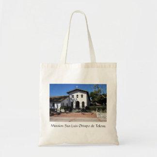 Mission San Luis Obispo Canvas Bag
