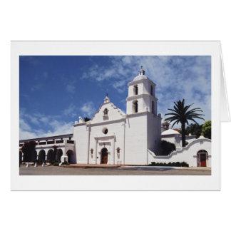 Mission San Luis Rey de Francia Card