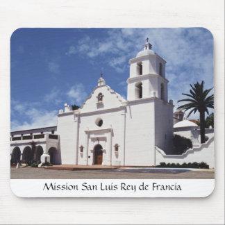 Mission San Luis Rey de Francia Mouse Pad