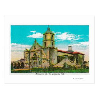 Mission San Luis, Rey de FranciaOceanside, CA Postcard