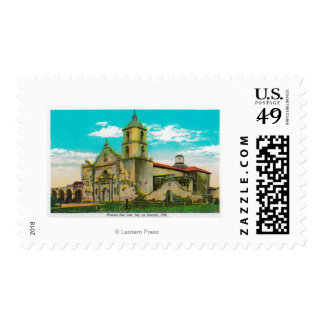 Mission San Luis, Rey de FranciaOceanside, CA Stamp