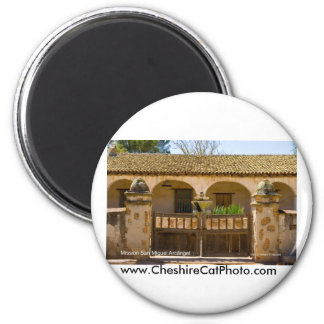 Mission San Miguel Arcángel California Products 2 Inch Round Magnet