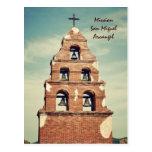 Mission San Miguel Arcangel Postcard