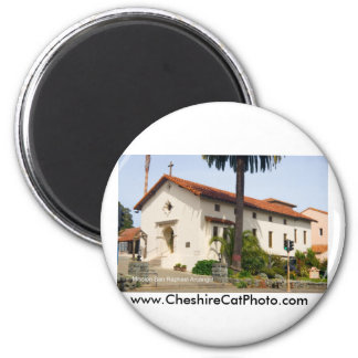 Mission San Rafael Arcángel California Products 2 Inch Round Magnet
