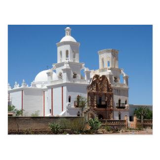 Mission San Xavier del Bac Postcard