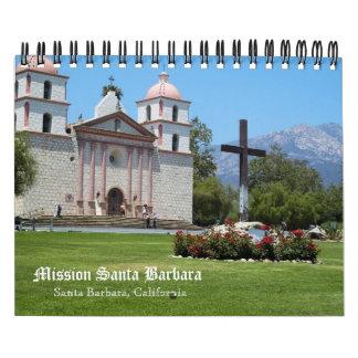Mission Santa Barbara Wall Calendar