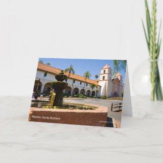 Mission Santa Barbara California Products Card