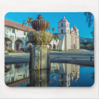 Mission Santa Barbara Mouse Pad