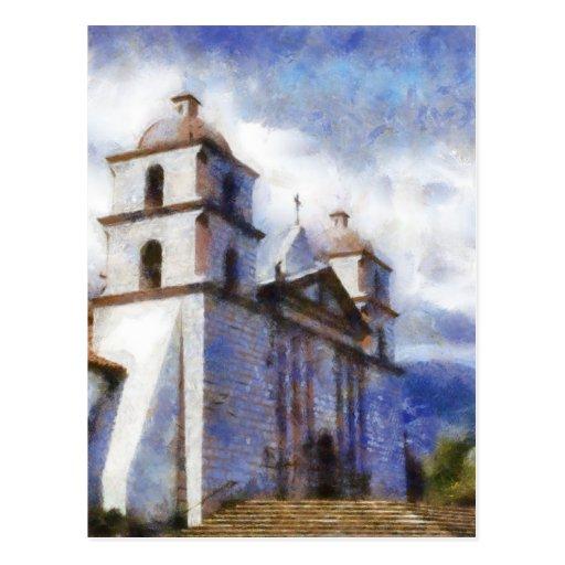 Mission Santa Barbara Postcards