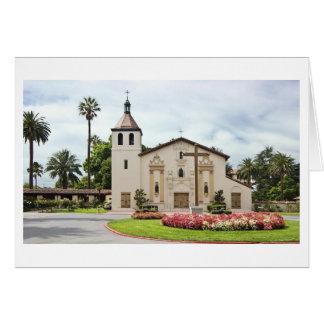 Mission Santa Clara de Asis Card