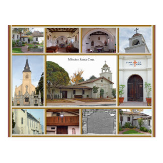 Mission Santa Cruz Postcard