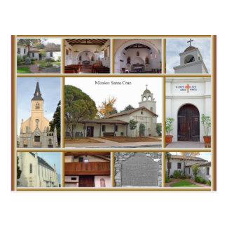 Mission Santa Cruz Postcard