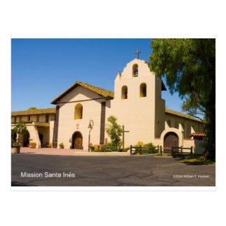 Mission Santa Inés California Products Post Card