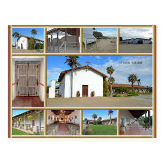 Mission Soledad Postcard