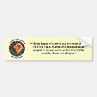Mission Statement Bumper Sticker