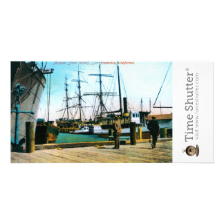 Mission Street Wharf Customized Photo Card