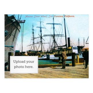 Mission Street Wharf Postcard