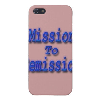 Mission To Remission blu iPhone SE/5/5s Case