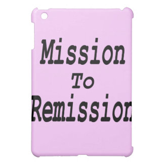 Mission To Remission iPad Mini Case