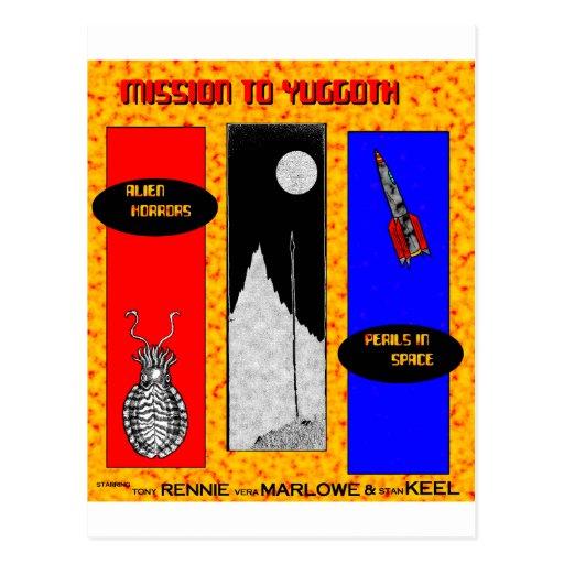 Mission to Yuggoth Postcard