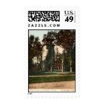 Mission Tower Stockbridge Mass. 1906 Vintage Stamp