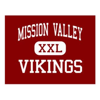 Mission Valley - Vikings - High - Eskridge Kansas Postcard