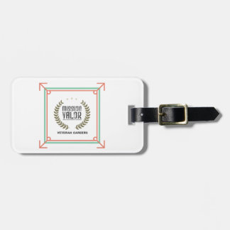 Mission: VALOR Luggage Tag w/ leather strap