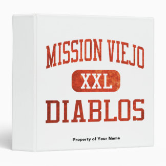 Mission Viejo Diablos Athletics 3 Ring Binder