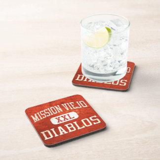 Mission Viejo Diablos Athletics Drink Coaster